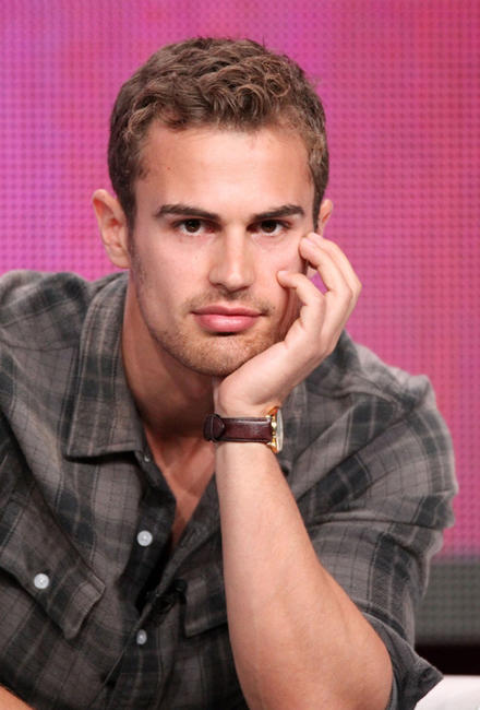 Theo James at the